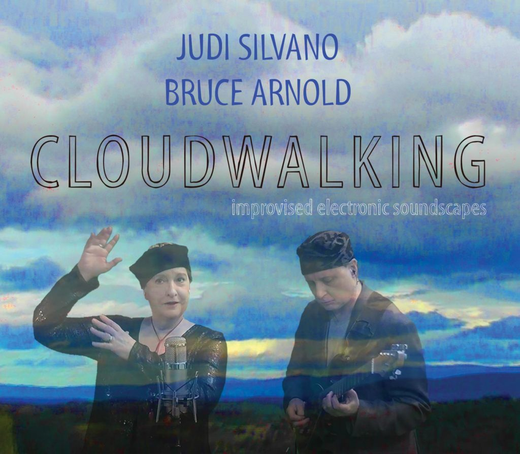 Cloudwalking CD cover from the group Sonic Twist® from their Sonic Twist® Reviews page.  Judi Silvano and Bruce Arnold are Sonic Twist®